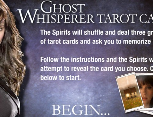 Ghost Whisperer Tarot Game