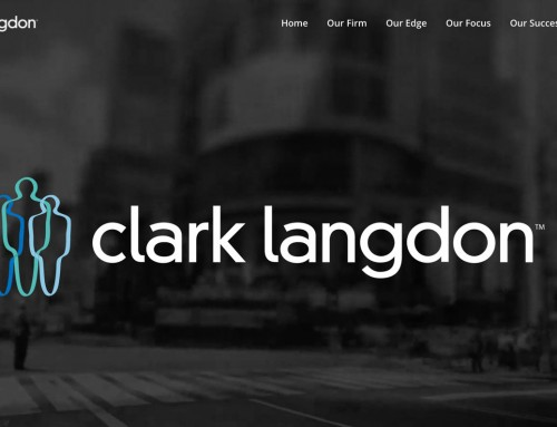 Clark Langdon logo animation