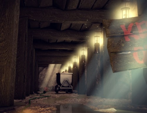 Mineshaft explosion – study