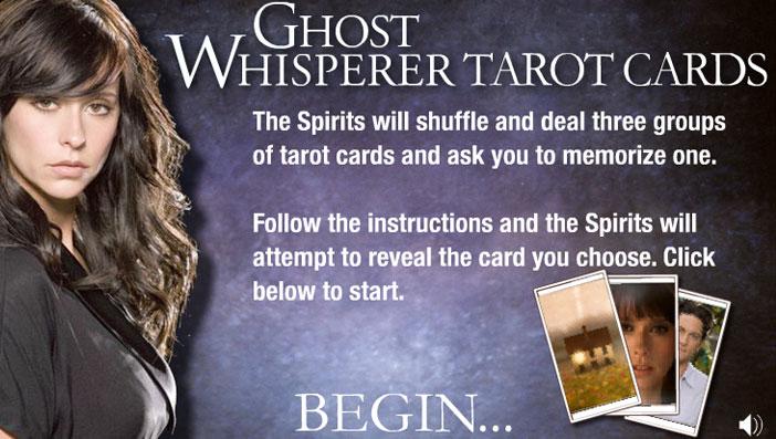 Ghost Whisperer Tarot Game