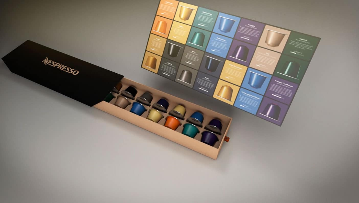 Nespresso animation