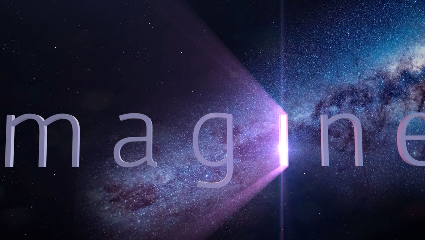 Imagine logo animation